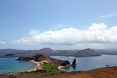 Playa Dorada, Pinnacle rock, Sulivan bay (xd_travel) Tags: 2014 galapagos mssamba equador islabartolome playadorada pinnaclerock escalera sulivanbay