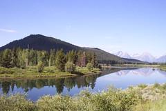 DCP_6635 (bethelohio) Tags: kodak reflection mountains wyoming water tetons trees national park beauty alpine