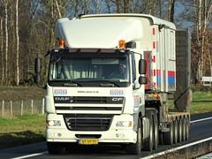 DAF CF from Aduco Holland. (capelleaandenijssel) Tags: btxp71 truck trailer lorry camion lkw netherlands nl
