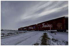 CP Holiday Train 2019 (SpacePaparazzi.com) Tags: capturethespirit cpholidaytrain cp canadianpacific train christmaslights christmastradition spacepaparazzicom