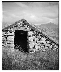 H_Boot_HP5_08 (D_M_J) Tags: boot eskdale lake district shelters sheepholds sheep lakedistrict lakeland cumbria north west uk england film camera medium format 120 roll 6x7 mamiya rb67 ilford hp5 plus 400 kodak hc110 epson v850 vuescan black white bw blackandwhite mono monochrome