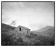 H_Boot_HP5_03 (D_M_J) Tags: boot eskdale lake district shelters sheepholds sheep lakedistrict lakeland cumbria north west uk england film camera medium format 120 roll 6x7 mamiya rb67 ilford hp5 plus 400 kodak hc110 epson v850 vuescan black white bw blackandwhite mono monochrome