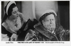 Charles Laughton and Everley Gregg in The Private Life of Henry VIII. (1933) (Truus, Bob & Jan too!) Tags: charleslaughton charles laughton british actor everleygregg everley gregg actress theprivatelifeofhenryviii 1933 film cinema cine kino picture screen movie movies european filmstar filmster star vintage postcard carte postale cartolina tarjet postal postkarte postkaart briefkarte briefkaart ansichtskarte ansichtkaart londonfilms filmweekly filmshots