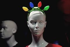 The Face of Xmas Apathy ;) (Rob Lester Photography) Tags: xmas apathy christmas manikin manikinhead faces model