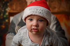 His first Christmas (Wil James) Tags: sonyilca99m2 godox zeiss2470 christmas baby socute portrait godoxad200pro