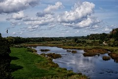 Kuldiga, Latvia (yulperja) Tags: venta kuldiga latvia river sky clouds skyclouds landscape nature revierbank blueandgreen summer