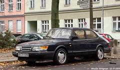 Saab 900 (XBXG) Tags: bch9099 saab 900 saab900 zionskirchstrase zionskirchstrasse berlin mitte prenzlauer berg berlijn germany deutschland duitsland allemagne герма́ния youngtimer old classic swedish car auto automobile voiture ancienne suédoise sverige sweden zweden vehicle outdoor