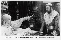 Charles Laughton and Elsa Lanchester in The Private Life of Henry VIII. (1933) (Truus, Bob & Jan too!) Tags: charleslaughton charles laughton british actor elsalanchester elsa lanchester actress theprivatelifeofhenryviii 1933 film cinema cine kino picture screen movie movies european filmstar filmster star vintage postcard carte postale cartolina tarjet postal postkarte postkaart briefkarte briefkaart ansichtskarte ansichtkaart londonfilms filmweekly filmshots