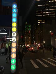 Fulton Center (wyliepoon) Tags: fulton center new york city subway lower manhattan mta station
