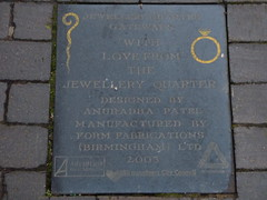 Vyse Street, Jewellery Quarter - plaque - Jewellery Quarter Gateways (ell brown) Tags: jewelleryquarter birmingham westmidlands england unitedkingdom greatbritain vysest hockley plaque jewelleryquartergateways