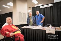 Michael Vance and R.A. Jones at Tulsa Pop Culture Expo 3 (Michael Vance1) Tags: reader friend fan man boy comics novel convention oklahoma