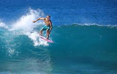 Surfer (ashockenberry) Tags: ashleyhockenberryphotography wild reserve beach surf sand surfer banzai pipeline haleiwa spray beautiful blue green hawaii oahu majestic light landscape ocean wave