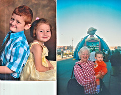 Dianne Jean Lail and kids (Michael Vance1) Tags: woman wife sister twin family girl granddaughter grandson grandmother oklahoma love mother boy