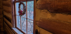 We Have Arrived (grinnin1110) Tags: mensa charlotte christmasparty northamerica lowerprovidencecommunityhouse northcarolina afternoon communityhouseroad autumn logcabin charlottemecklenburghistoricsite mecklenburgcounty nc unitedstatesofamerica