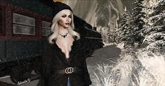 A Change Of Heart (Antonela Sartori) Tags: cynful pixicat foxy snow cold blog blogger c88 christmas lights jacket blogging nails hair poses sl secondlife model