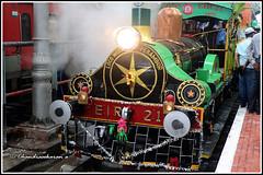 9450 - Heritage train at Chennai (chandrasekaran a 64 lakhs views Thanks to all.) Tags: steamengine heritagetrain locomative chennai perambur india 1855 canoneosm50 egmore kodambakkam train eir21
