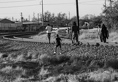 (o texano) Tags: houston texas trains freights railroad 5thward bloodynickel youth people candid