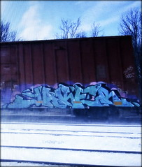 (timetomakethepasta) Tags: jake jaker gk freight train graffiti art boxcar