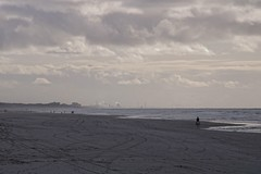 a Ride on the beach (Johan Moerbeek) Tags: camperduin strand beach clouds horse riding moerbeek canon noordzee holland
