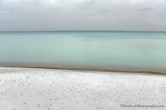 Lake Michigan ... 3-tiered (Ken Scott) Tags: beach horizon minimalist turquoisewater leelanau michigan usa 2019 december winter 45thparallel hdr kenscott kenscottphotography kenscottphotographycom freshwater greatlakes lakemichigan