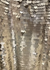Sequined dress pattern (joncutrer) Tags: abstract sequined shiny fashion dress texture pattern squins sequins sequin dots circles round reflective gold clothing cc0 publicdomain free reflect