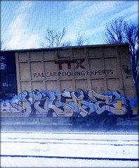 killaz (timetomakethepasta) Tags: killaz freight train graffiti art ttx boxcar