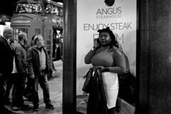 No title, London 2016 (Sam Benari) Tags: unitedkingdom streetphotography fujifilm bus red monochrome london xpro2 bw blackandwhite acros