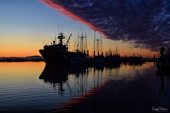 Steveston Fishing Village Harbour Sunset (Explored) (SonjaPetersonPh♡tography) Tags: sunset fraserriver steveston stevestonvillage stevestonharbour stevestonfishingvillage stevestonwharf stevestonchannel nightphotography sky night clouds boats nikon harbour ships silhouettes fishermanswharf nightsky fishingboats fishingvillage nightscenes nikond5300 afsdxnikkor18300mmf3563gedvr canada bc britishcolumbia richmond nikkor luluisland cloudsonflickr coloursofthesky