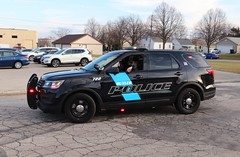 Butler, Wisconsin Christmas Parade 2019 (raserf) Tags: butler wisconsin waukesha county village parade christmas 2019 police vehicle cop leo ford interceptor holiday celebration