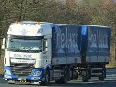 DAF XF116 superspacecab drawbar from Neele-Vat Holland. (capelleaandenijssel) Tags: 79bnn4 truck trailer lorry camion lkw netherlands nl