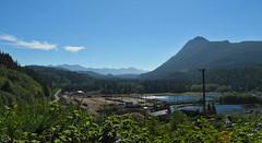 timber harbor Vancouver Island 2017 (matthias416) Tags: vancouverisland britishcolumbia kanada canada sky himmel landscape landschaft harbor hafen nikon