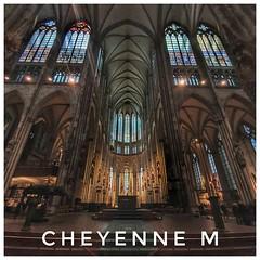 L'intérieur de la Cathédrale de Cologne 😍 (cheyennemercier) Tags: cathedrale cologne koln europe catholique god dieu religion architecture