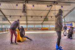 Ice fun (stevefge) Tags: 2019 beuningen beuningenonice icerink skaters skating winter nederland netherlands nl nikon nederlandvandaag people candid kids kinderen children unsuspecting