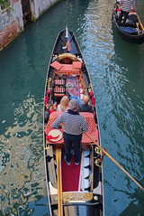 Rio di San Luca (Nigel Musgrove-3 million views-thank you!) Tags: italy italia venezia veneto canal gondola tourists gondolier rio di san luca ponte del teatro