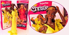 TO RE-BOX OR NOT TO RE-BOX? (ModBarbieLover) Tags: superstar christie doll barbie nrfb mattel 1976 1977 disco toy rebox