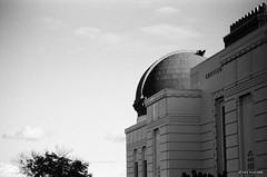 Griffith Observatory (markjwyatt) Tags: kodakretinareflexiv schneiderkreuznach trix monochrome film analog 85mmf4retinatelearton california griffith observatory losangeles kodak