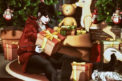 Silent Night (marduklust resident) Tags: sl avatar secondlifedaefangsiconic second life dae fangs iconic gb gabriel swallow kustom9 santainc