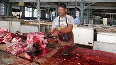 Mauritius Port Louis XII (stega60) Tags: mauritius ilemaurice market hall meat beef butcher portlouis blood stega60
