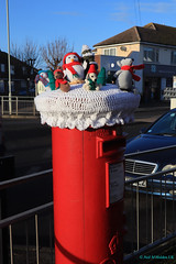 Herne Bay, England, United Kingdom (Neil M Holden) Tags: hernebay england unitedkingdom worldtrekker xmas postbox