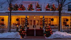 Red Lion Inn, Stockbridge Massachusetts (John Clay173) Tags: lights newengland stockbridge winter berkshires massachusetts holiday ma jclay snow