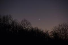 Conjunction of Venus and Mercury 09Jan2015 (AstroJimJohn) Tags: venus mercury conjunction twilight