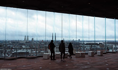 City Panorama (peterphotographic) Tags: olympus em5mk2 microfourthirds mft dslr ©peterhall antwerp belgium lowcountries europe city cityscape urban tourist pc080039edwm museumaandestroom view aerial silhouette high window panorama