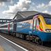EMT 43083 leaving East Midlands Parkway