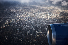 Approach over London (Paul .R. Martin) Tags: flying britishairways london aviation aerial