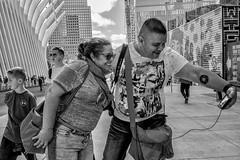 Manhattan, 2018 (Alan Barr) Tags: newyork newyorkcity nyc ny manhattan 2018 street streetphotography streetphoto sp blackandwhite bw blackwhite mono monochrome candid city people panasonic gx85