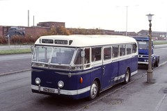 Aintree & District Preservation Society , Liverpool . DWG526 . Aintree , Liverpool . Sunday 04th-November-1979 . (AndrewHA's) Tags: liverpool aintree district preservation society preserved coach bus alexander northern leyland royal tiger dwg526 pc 30
