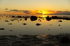 Sunset near the mouth of Pearl Harbor (Fletch in HI) Tags: sunset oahu hawaii pearlharbor hickamafb