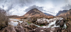 (Chris B70D) Tags: glencoe scotland 2019 autumn winter cold grey green moss hills mountains scenery grass heather sky clouds skyfall figure black tones colour edit raw canon 70d go outdoors travel nature fresh landscape history highlands holiday weekend roadtrip cairn rain best scottish travelling