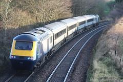 BURNTISLAND 43126 (johnwebb292) Tags: burntisland diesel hst scotrail class 43 43131 43126 fifecircle