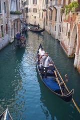 Rio di San Luca (Nigel Musgrove-3 million views-thank you!) Tags: venice italy italia venezia veneto gondola tourists gondolier canal rio di san luca ponte del teatro
